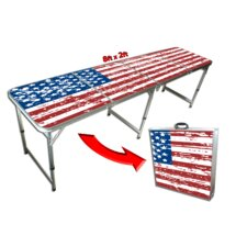 8 Foot Beer Pong Table / Tailgate Table