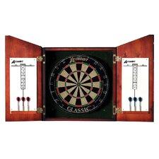 Union Jack Dartboard Cabinet