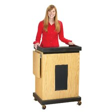 <strong>Oklahoma Sound Corporation</strong> Smart Cart Lectern with Sound