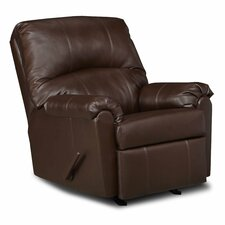 Windsor Bonded Leather Rocker Recliner
