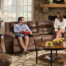 Wisconsin Beautyrest Motion Console Loveseat