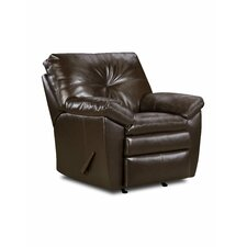 Sebring Bonded Leather Rocker  Recliner