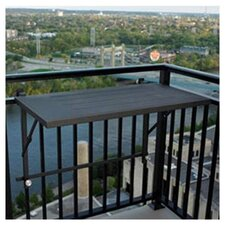 Deck Rail Mount Grill Shelf