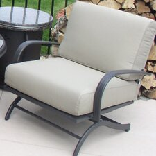 Chat Rocking Chairs with Cushions (Set of 2)
