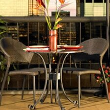 <strong>The Outdoor GreatRoom Company</strong> Patio 3 Piece Bistro Set