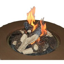 Crystal Fire Concrete Fire Pit Table