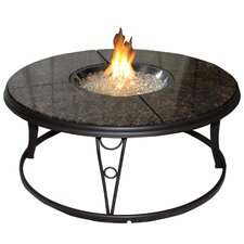 Chat Table with Fire Pit