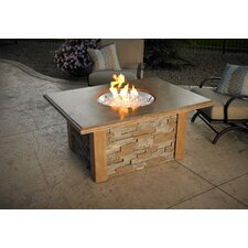 Sierra Round Firepit Table with Round Burner