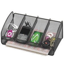 <strong>Safco Products Company</strong> Metal Mesh Desk Organizer