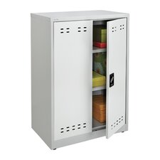 "<strong>Safco Products Company</strong> 42"" Steel Storage Cabinet"