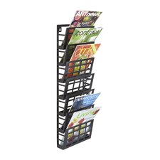 <strong>Safco Products Company</strong> Grid 7 Pocket Magazine Rack