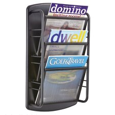 Impromptu® 3 Pocket Magazine Rack