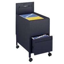 Extra-Deep Locking Letter-Size Tub File with File Drawer