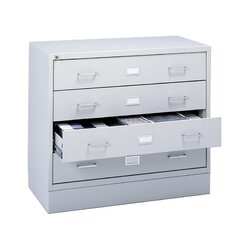 <strong>Safco Products Company</strong> Four-Drawer A/V Microform Storage Cabinet