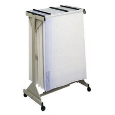 Safco Sheet File Mobile Plan Center Filing Cart