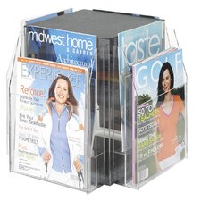 8 Pocket Magazine Table Display