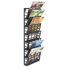 Grid 7 Pocket Magazine Rack