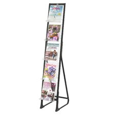 5 Pocket In-View Free Standing Display