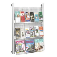 Luxe 9 Pocket Magazine Rack