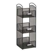 Onyx Mesh Tower Break Room Organizer
