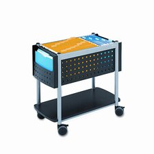 "Scoot 26"" Open Top Mobile File Cart"