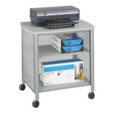 "<strong>Safco Products Company</strong> Impromptu Machine Stand, 1-Shelf, 26.25"" Wide"