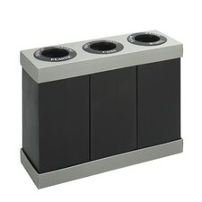 At-Your-Disposal 28 Gallon Multi Compartment Recycling Bin