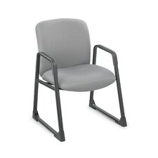 Uber Series Big and Tall Sled Base Guest Chair