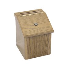 Wood Locking Suggestion Box