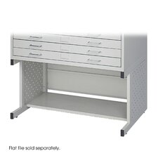<strong>Safco Products Company</strong> Facil Flat Small File High Base in Light Gray