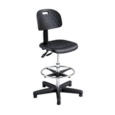<strong>Safco Products Company</strong> Height Adjustable Drafting Stool with Footring