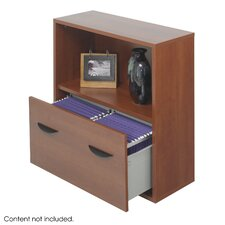 Apres Modular Storage Shelf with Lower File Drawer