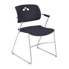 <strong>Safco Products Company</strong> Veer Four Stacking Chair