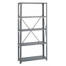 "Commercial Steel 76"" H 4 Shelf Shelving Unit"