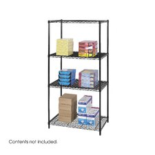 "<strong>Safco Products Company</strong> Industrial Wire Starter Unit (36"" x 24"" Shelves)"
