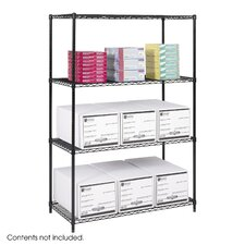 "Industrial 72"" H 3 Shelf Shelving Unit Starter"