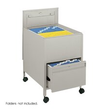 Extra-Deep Locking Legal-Size Tub File with File Drawer