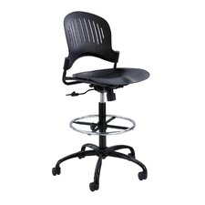 <strong>Safco Products Company</strong> Zippi Plastic Extended-Height Chair