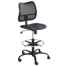 <strong>Safco Products Company</strong> Vue Series Mesh Extended Height Chair, Vinyl Seat