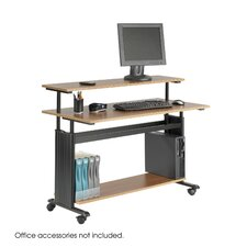 "<strong>Safco Products Company</strong> MUV 48"" W Height-Adjustable Workstation"