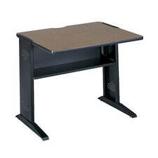 "<strong>Safco Products Company</strong> Computer Desk with Reversible Top, 35.5"" Wide"