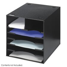Steel Desktop Sorter, Seven Compartments