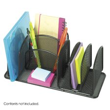 <strong>Safco Products Company</strong> Onyx Deluxe Organizer in Black