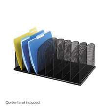 Mesh Desk Organizer, Eight Sections