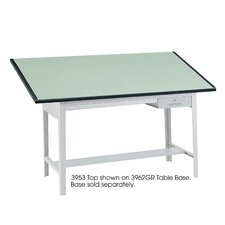 Precision Drafting Rectangular Table Top