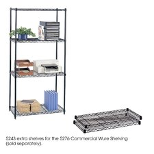 "<strong>Safco Products Company</strong> Commercial Wire Shelving 36""W Extra Shelves"