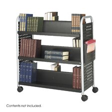<strong>Safco Products Company</strong> Scoot Book Cart, 6-Shelf