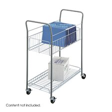 <strong>Safco Products Company</strong> Economy Mail Cart