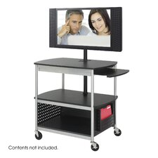 <strong>Safco Products Company</strong> Scoot Flat Panel Multimedia Cart