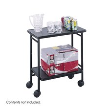 <strong>Safco Products Company</strong> Folding Office/Beverage Cart